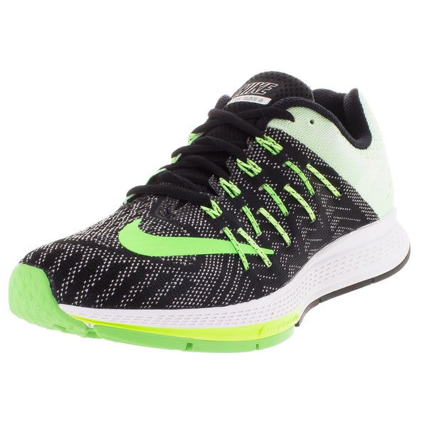 Nike Women's Air Zoom Elite 8 Black/ Green/Green Running Shoe