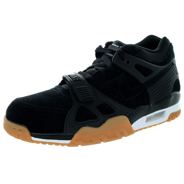 Nike Men's Air Trainer 3 Black/Black/White/Gm Lght Brown Training Shoe