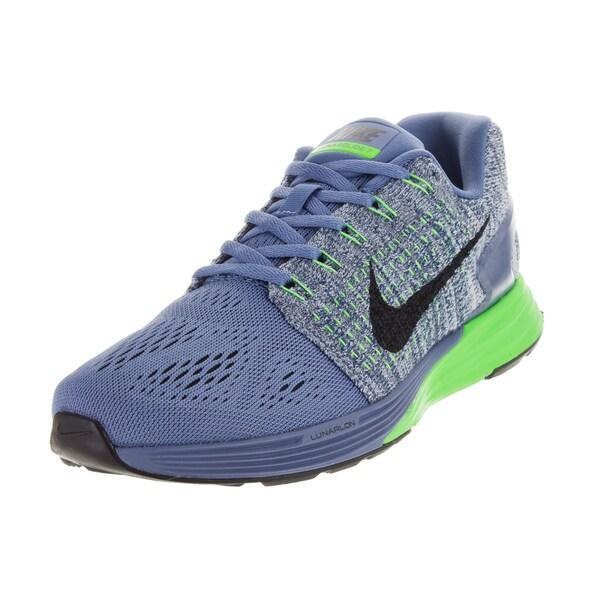 Nike Women's Lunarglide 7 Ocean Fog/Black/ G/Lcd G Running Shoe