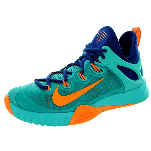Nike Men's Zoom Hyperrev 2015 Lt Retro/Brightt Citrus/Gym Bl Basketball Shoe