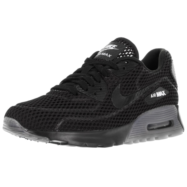 Nike Women's Air Max 90 Ultra Br Black/Black/White Running Shoe
