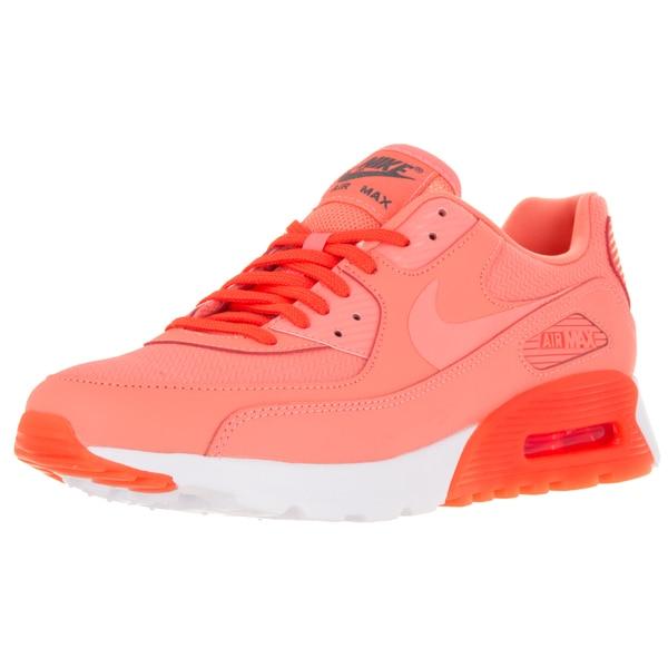 Nike Women's Air Max 90 Ultra Essential Atomic Pink/Atomic Pink/T Crimson Running Shoe