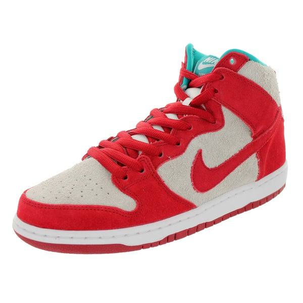 Nike Men's Dunk High Pro Sb Gym Red/Gym Red/White Skate Shoe