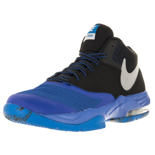 Nike Men's Air Max Emergent Gm Royal/Metallic Silver/Black/ Basketball Shoe