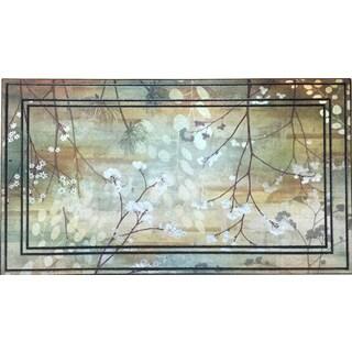 All Season Misty Woods 22-inch x 34-inch Non-Slip Indoor/Outdoor Doormat