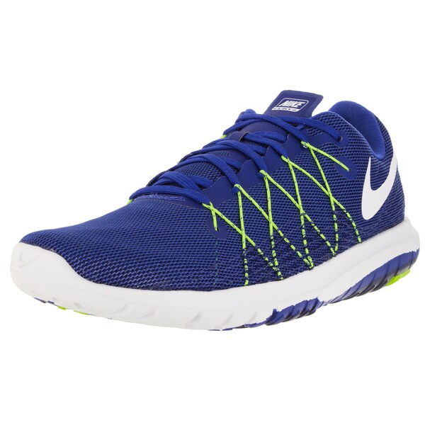 Nike Men's Flex Fury 2 Racer Blue/White/Dp Royal Blue Running Shoe