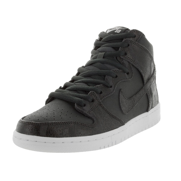 Nike Men's Dunk High Pro Sb Anthracite/Black/White Skate Shoe 19854806