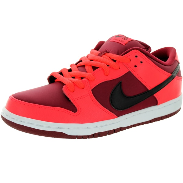 Nike Men's Dunk Low Pro Sb Laser Crimson/Black/Team Red Skate Shoe