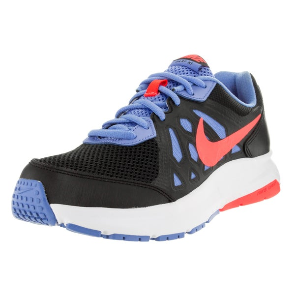 Nike Women's Dart 11 Black/ Orange/Chalk Blue/White Running Shoe