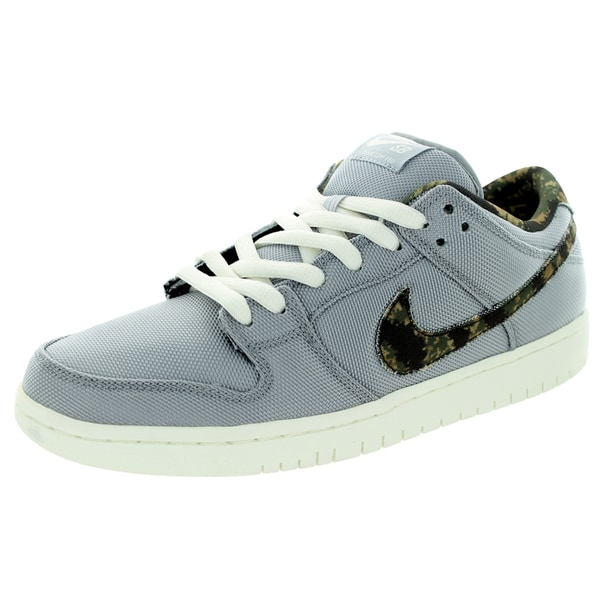 Nike Men's Dunk Low Pro Sb Wolf Grey/Medium Olive/Sail Skate Shoe
