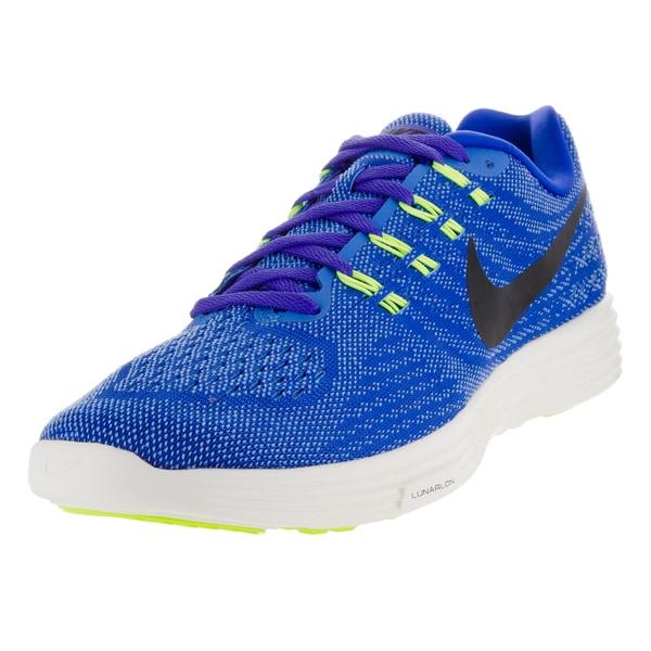 Nike Men's Lunartempo 2 Racer Blue/Black/Lt /Vlt Running Shoe