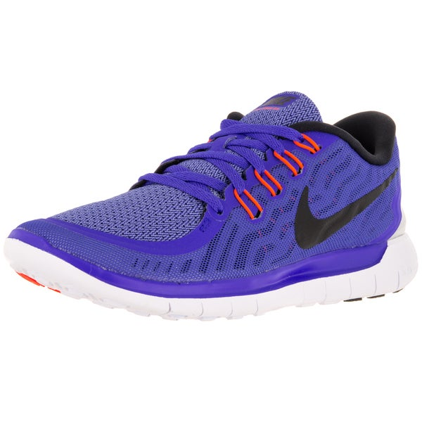 Nike Women's Free 5.0 Racer Blue/Black/Chalk Blueue/White Running Shoe