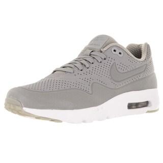 Nike Men's Air Max 1 Ultra Moire Medium Grey/Medium Grey/White Running Shoe