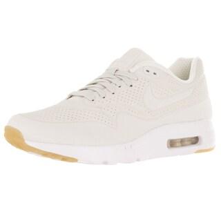 Nike Men's Air Max 1 Ultra Moire Phantom/Phantom/White/Gum Yellow Running Shoe