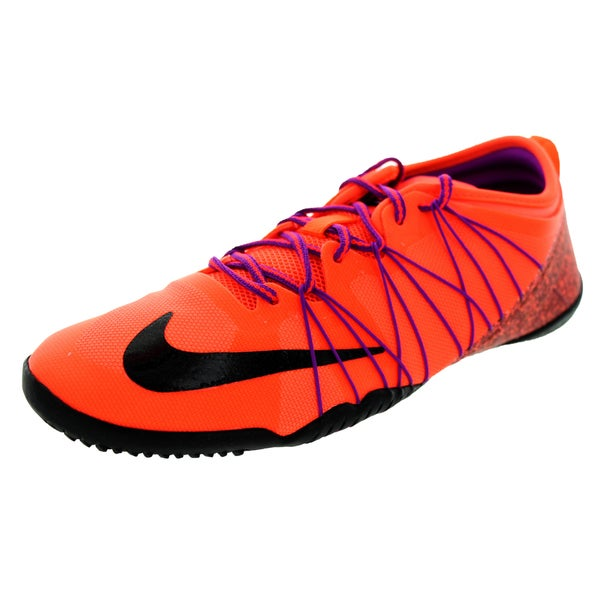 Nike Women's Free 1.0 Cross Bionic 2 Hyper Orange/Black/Vvd Purple Training Shoe