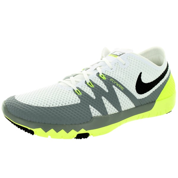 Nike Men's Free Trainer 3.0 V3 White/Black/Cool Grey Running Shoe