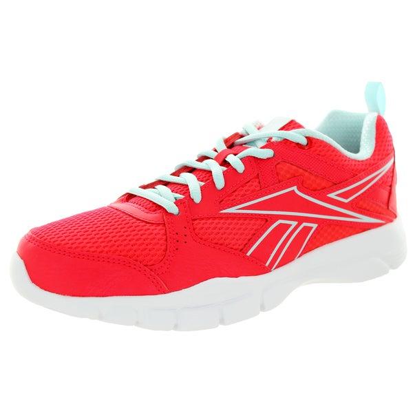 Reebok Women's Trainfusion 5.0 Neon Cherry/Blue/White Training Shoe