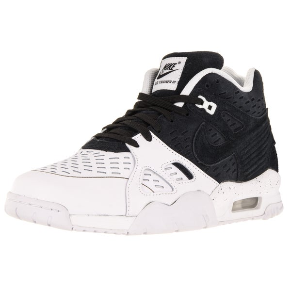 Nike Men's Air Trainer 3 Le Black/Black/White Training Shoe