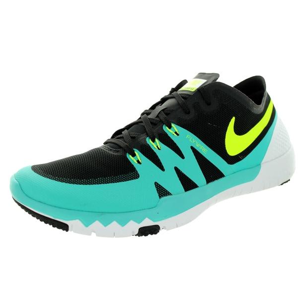 Nike Men's Free Trainer 3.0 V3 Black/Volt/Lt Retro/White Training Shoe