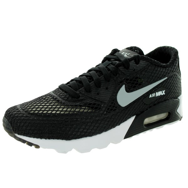 Nike Men's Air Max 90 Ultra Br Plus Qs Black/Wolf Grey/White/Volt Running Shoe