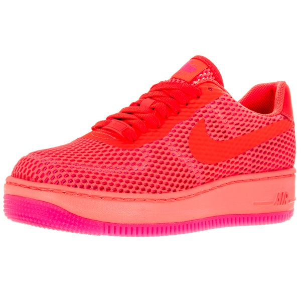 Nike Women's Af1 Low Upstep Br Total Crimson/Total Crimson Casual Shoe