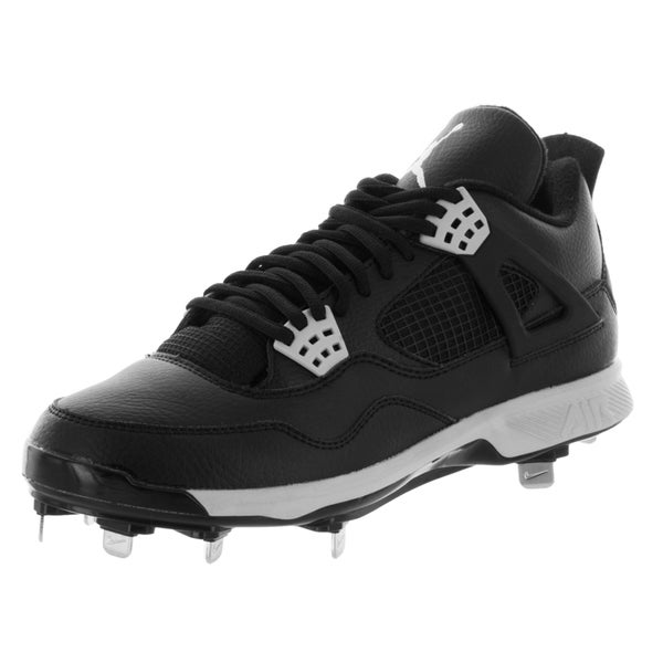 Nike Jordan Men's Jordan Iv Retro Metal Black/Tech Grey Baseball Cleat