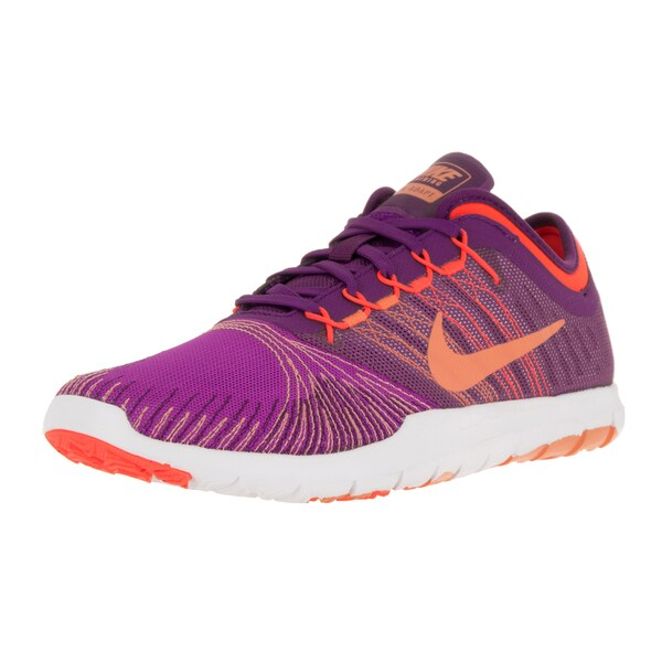 Nike Women's Flex Adapt Tr Hyper Violet/Pch Crm/Brightt Grp/T Training Shoe