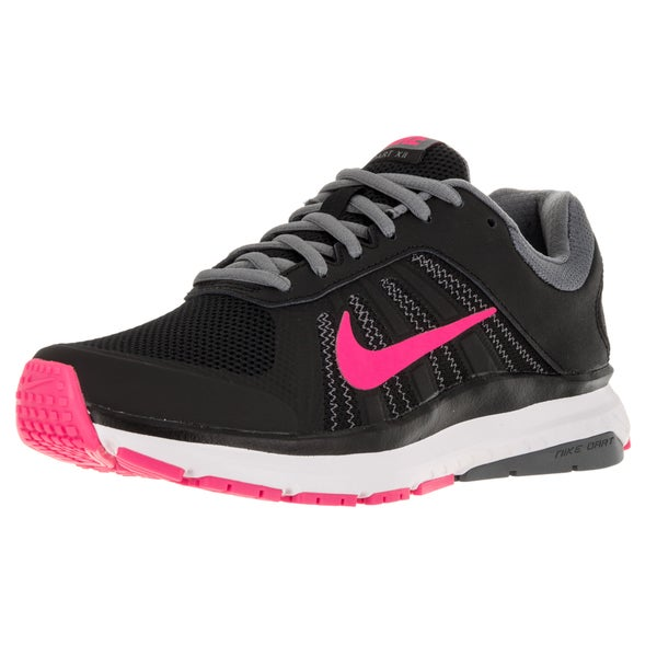 Nike Women's Dart 12 Black/Pink/Blast/Grey/Dark Grey Running Shoe