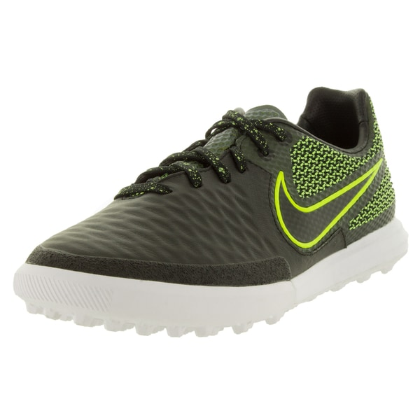 Nike Men's Magistax Finale Tf Black/Black/Volt/White Turf Soccer Shoe