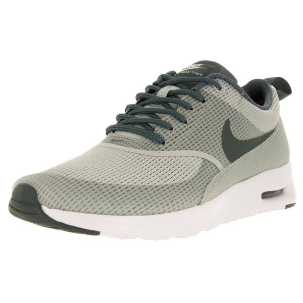 Nike Women's Air Max Thea Txt Light Silver/Hasta/White Running Shoe