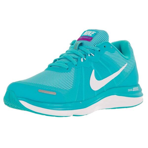 Nike Women's Dual Fusion X 2 Gamma Blue/White/Rflct Silver Running Shoe