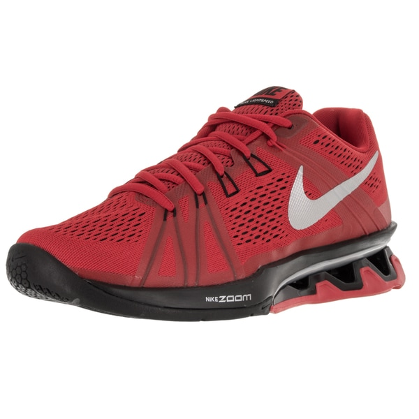 Nike Men's Reax Lightspeed University Red/Metallic Silver/Black Running Shoe