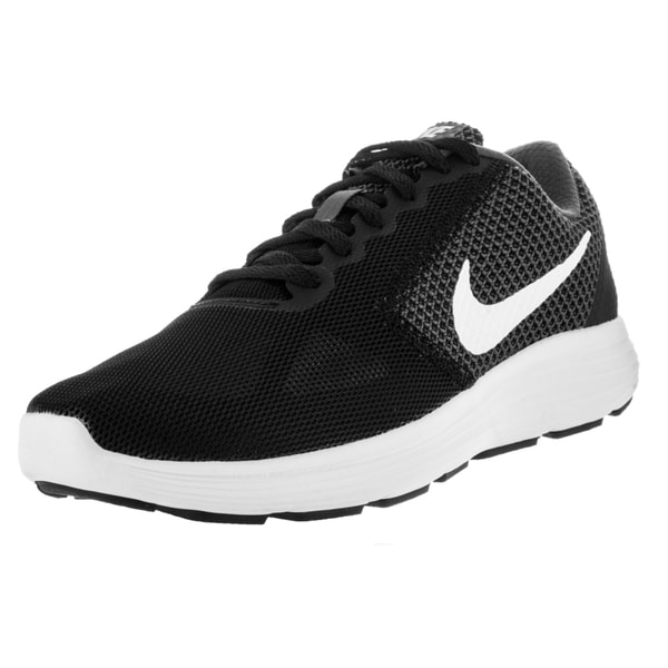 Nike Women's Revolution 3 Dark Grey/White/Black Running Shoe
