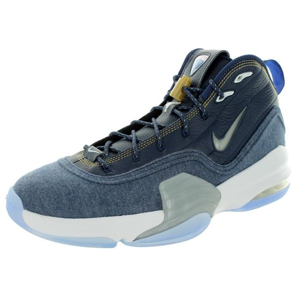 Nike Men's Pippen 6 Midnight Navy/White Basketball Shoe 19856003