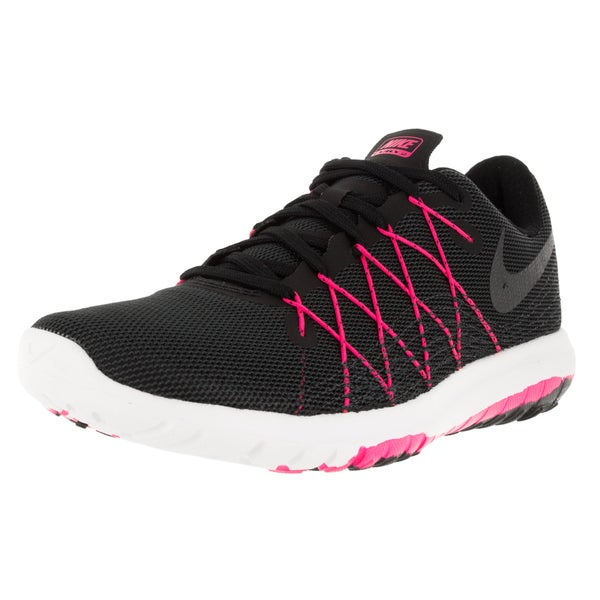 Nike Women's Flex Fury 2 Black/Metallic Hmtt/ Pink/Anthrct Running Shoe 19856068