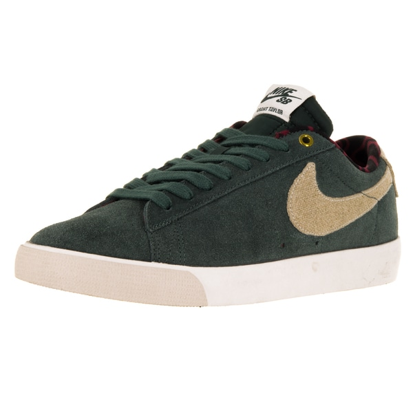 Nike Men's Blazer Low Gt Grove Green/Phanton/Team Red Skate Shoe