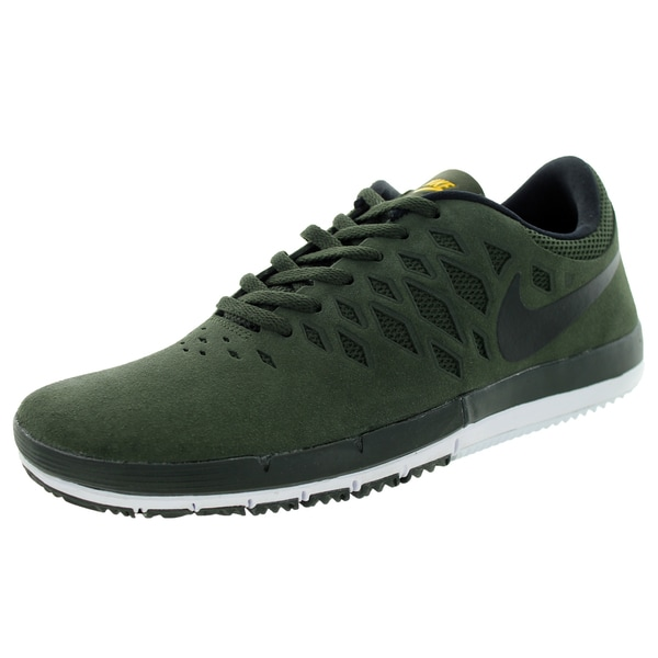 Nike Men's Free Sb Sequioa/Black/University Gold Skate Shoe