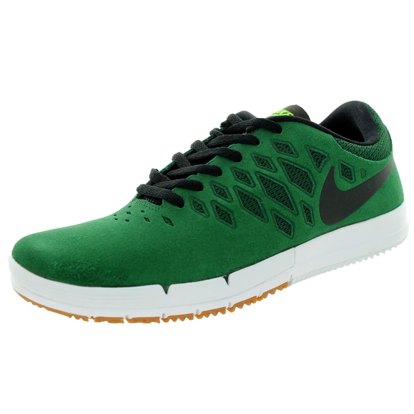 Nike Men's Free Sb GeOrangee Green/Black/Flash Lime Skate Shoe