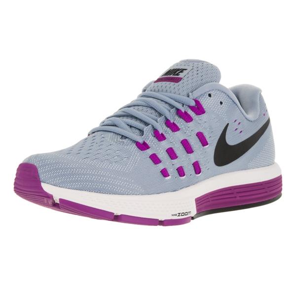 Nike Women's Air Zoom Vomero 11 Blue Grey/Black/ Bl Tnt Running Shoe