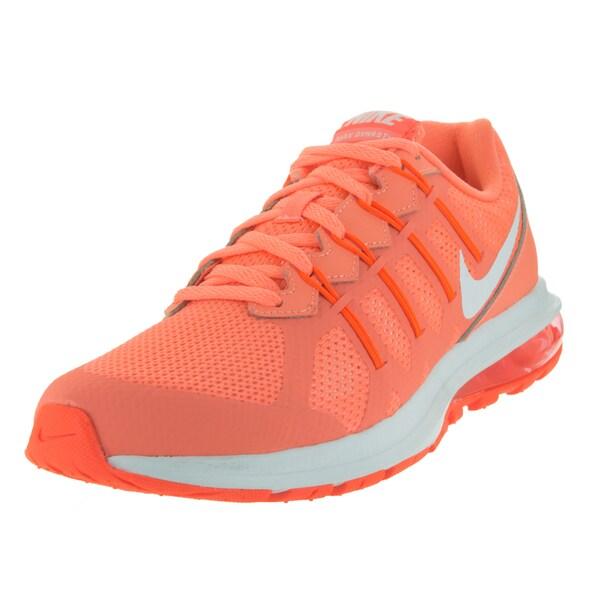 Nike Women's Air Max Dynasty Atomic Pink/White/Hyper Orange Running Shoe