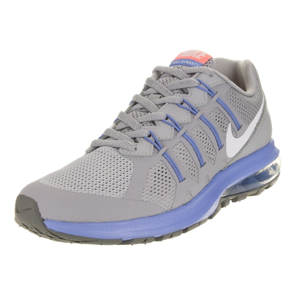 Nike Women's Air Max Dynasty Wolf Grey/White/Chalk Blue/Grey Running Shoe