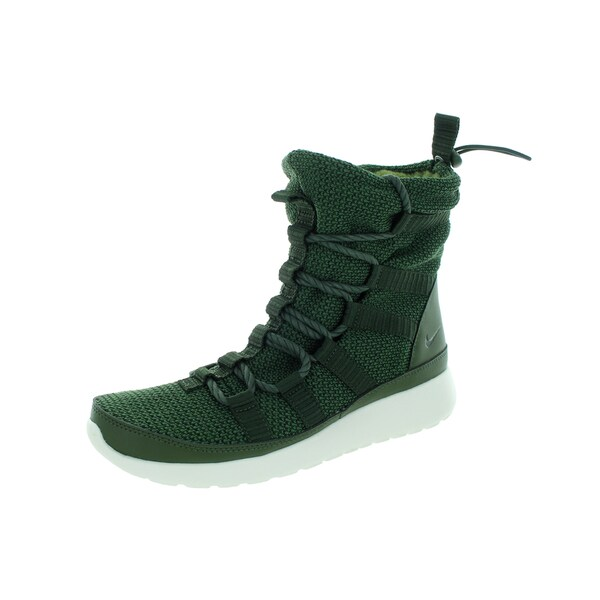 Nike Women's Roshe One Hi Carbon Green/Sequoia/Sail Boot