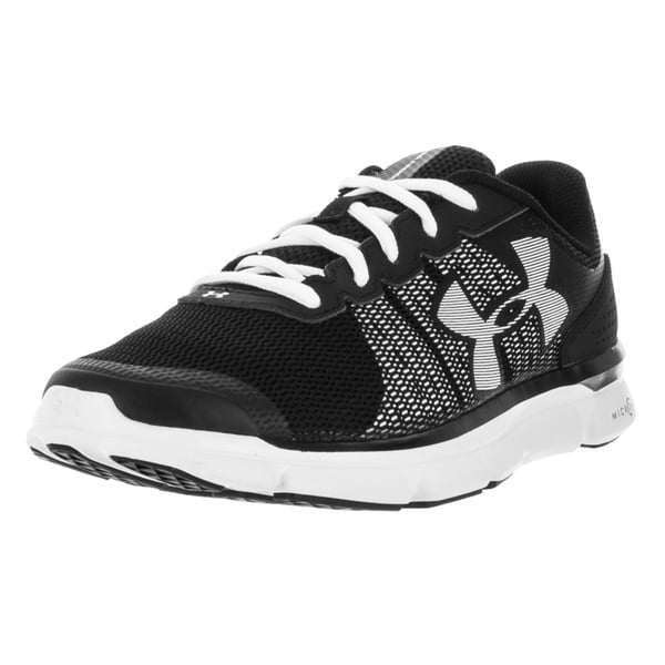 Under Armour Women's Micro G Speed Swift Black/White/White Running Shoe