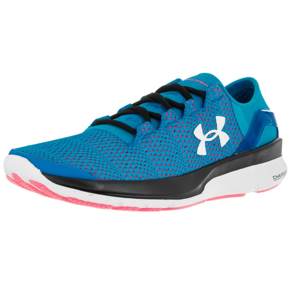 Under Armour Women's Speedform Apollo 2 Dynamite Blue/Hyr/White Running Shoe 19856419