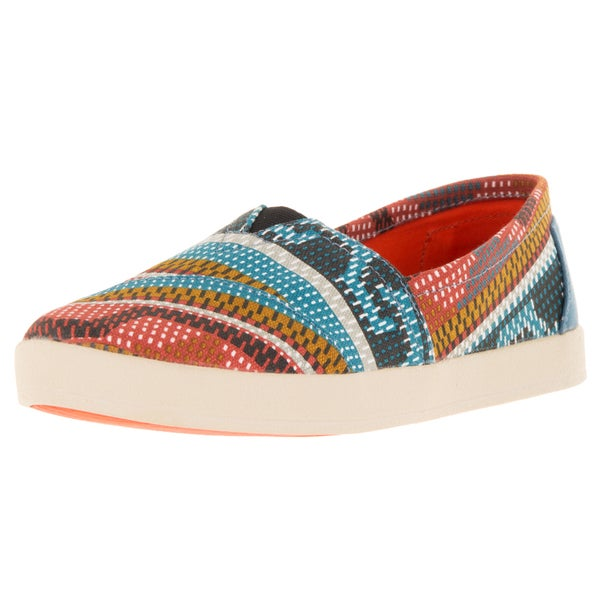 Toms Women's Avalon Sneaker Multi Canvas Casual Shoe