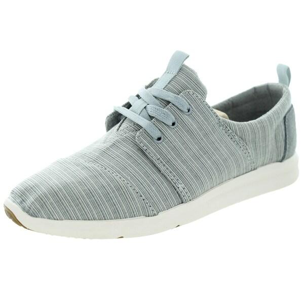 Toms Women's Del Rey Sneaker Vapor Blue Casual Shoe