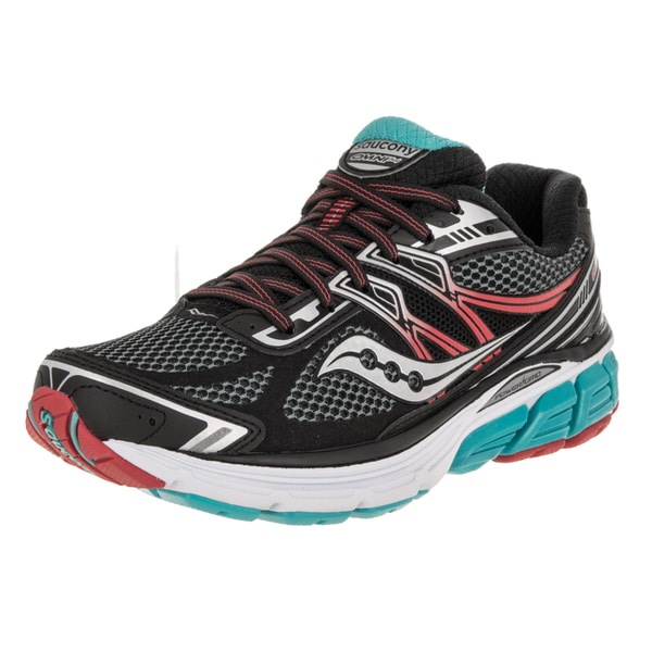Saucony Men's Omni 14 Black/Red Running Shoe