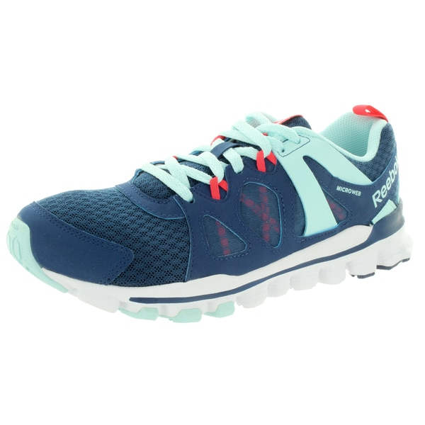 Reebok Women's Hexaffect Run 2.0 Mt Batik Blue/Cl Breeze/Chry Running Shoe