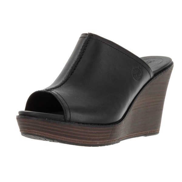 Timberland Women's Earthkeepers Dorth Mule Black/Noir Casual Shoe
