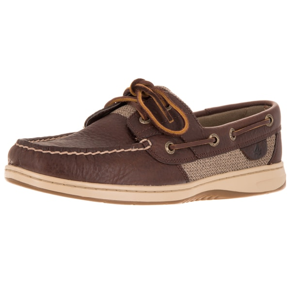 Sperry Top-Sider Women's Bluefish 2 Eye Wide Tan Boat Shoe